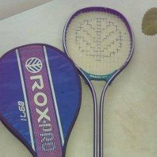 Coleccionismo deportivo: RAQUETA ROX CON FUNDA. Lote 105706059