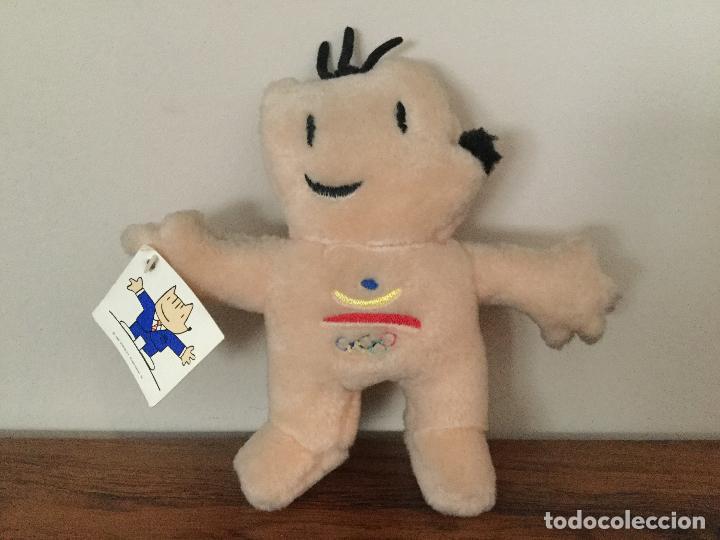 PELUCHE COBI BARCELONA 92. MASCOTA JUEGOS OLIMPICOS 1992 (Coleccionismo Deportivo - Merchandising y Mascotas - Otros deportes)