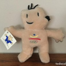 Coleccionismo deportivo: PELUCHE COBI BARCELONA 92. MASCOTA JUEGOS OLIMPICOS 1992. Lote 105876563