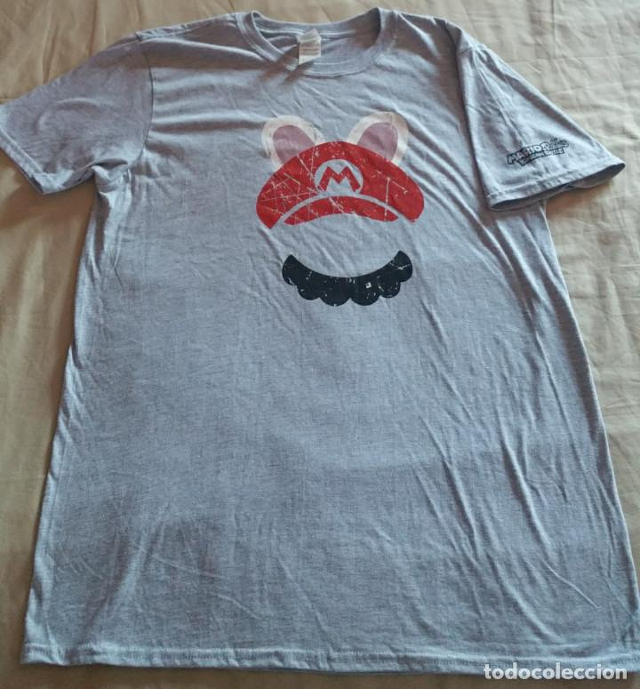 Coleccionismo deportivo: Camiseta Exclusiva Mario+Rabbids Kingdom Battle Collectors Nueva Talla XL TG EG - Foto 2 - 108760807