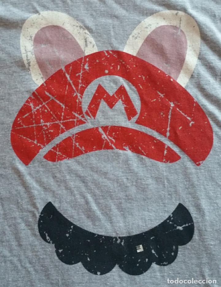 Coleccionismo deportivo: Camiseta Exclusiva Mario+Rabbids Kingdom Battle Collectors Nueva Talla XL TG EG - Foto 3 - 108760807