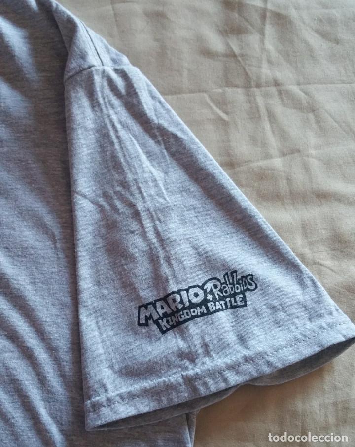 Coleccionismo deportivo: Camiseta Exclusiva Mario+Rabbids Kingdom Battle Collectors Nueva Talla XL TG EG - Foto 4 - 108760807