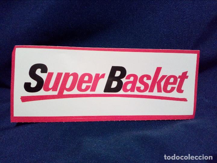 PEGATINA,SIN PEGAR,SUPER BASKET-BALONCESTO. (Coleccionismo Deportivo - Merchandising y Mascotas - Otros deportes)