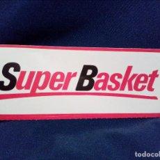 Coleccionismo deportivo: PEGATINA,SIN PEGAR,SUPER BASKET-BALONCESTO.. Lote 113473499