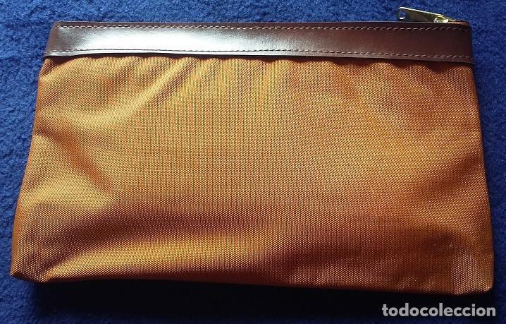 Coleccionismo deportivo: HARLEY DAVIDSON Estuche de nylon, portatodo con cremallera años 80 - Foto 2 - 115401795