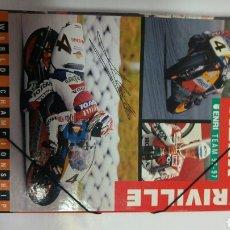Coleccionismo deportivo: CARPETA ALEX CRIVILLE VINTAGE RETRO CLASICA AÑOS 90. Lote 116596531