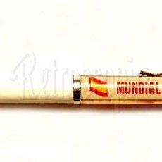 Coleccionismo deportivo: BOLI BOLIGRAFO DEL MUNDIAL DE ESPAÑA FUTBOL 82 /1982 CON MOVIMIENTO - COLOR BLANCO. Lote 118634131