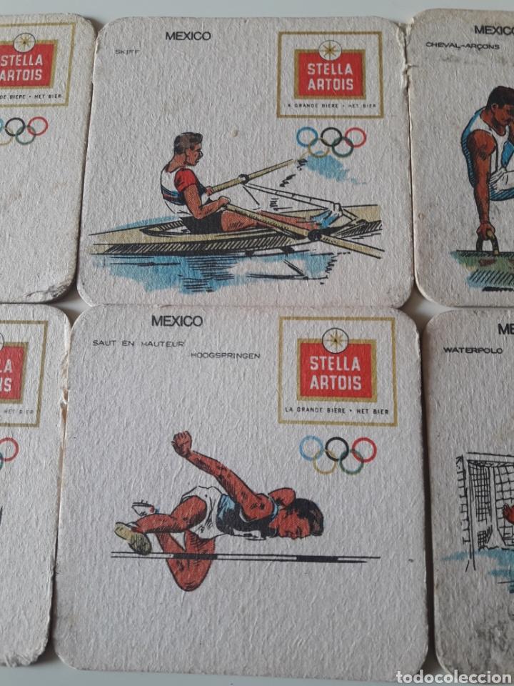 Juego 6 Posavasos Juegos Olimpicos Mexico Stela Comprar