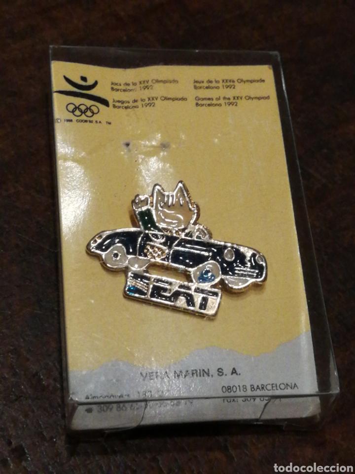 PIN OFICIAL COBI SEAT- JUEGOS OLIMPICOS 1992. (Coleccionismo Deportivo - Merchandising y Mascotas - Otros deportes)