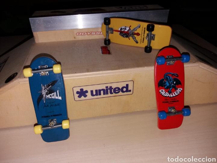 Coleccionismo deportivo: Rampa y 3 skateboard old scholl - Foto 2 - 121192039