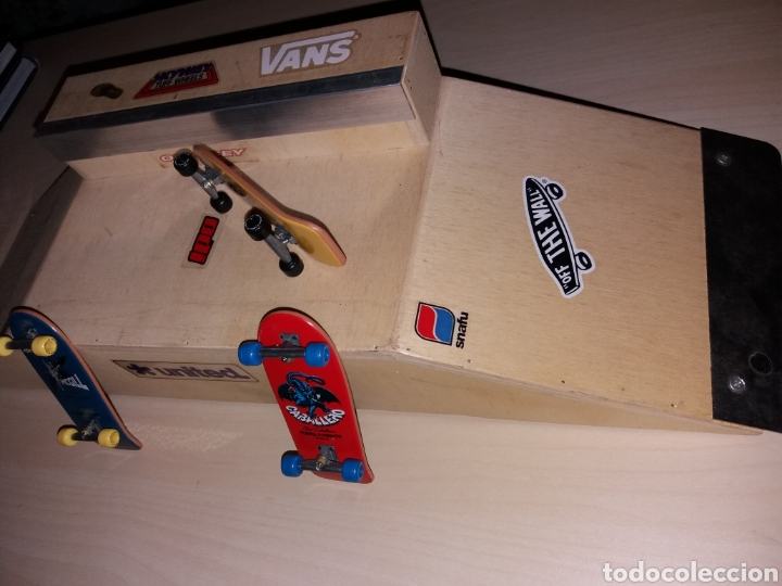 Coleccionismo deportivo: Rampa y 3 skateboard old scholl - Foto 3 - 121192039