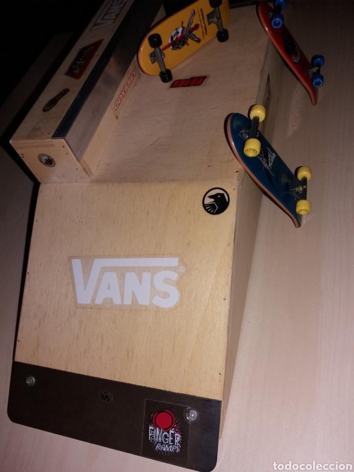 Coleccionismo deportivo: Rampa y 3 skateboard old scholl - Foto 4 - 121192039