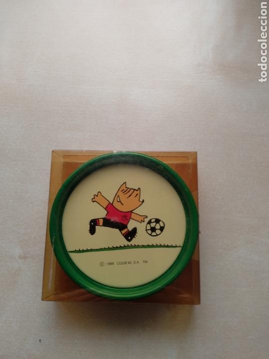 Coleccionismo deportivo: Posavasos Cobi Barcelona 92. Originales - Foto 2 - 122822379
