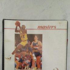 Coleccionismo deportivo: CARPESANO LIBRETA PEQUEÑO ENRI MASTERS BASKET NBA AÑOS 80. Lote 124543634