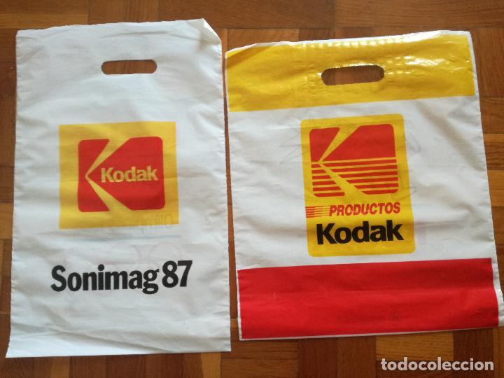 Coleccionismo deportivo: 2 BOLSAS DE PLASTICO KODAK PATROCINADOR OFICIAL OLIMPIADAS BARCELONA COBI - Foto 5 - 125684119