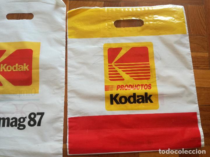 Coleccionismo deportivo: 2 BOLSAS DE PLASTICO KODAK PATROCINADOR OFICIAL OLIMPIADAS BARCELONA COBI - Foto 6 - 125684119
