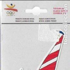 Coleccionismo deportivo: COBI VELA. BARCELONA 92. PEGATINA.. Lote 127257439