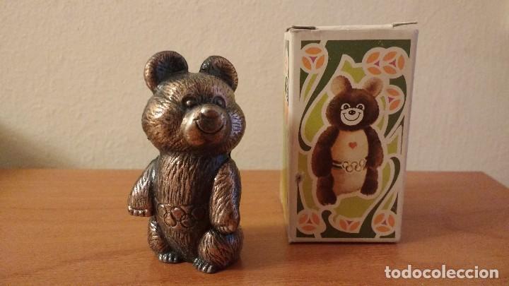 MISHA OSO OLIMPIADAS MOSCU 1980 PLAYME SACAPUNTAS AFILALAPICES JJOO (Coleccionismo Deportivo - Merchandising y Mascotas - Otros deportes)
