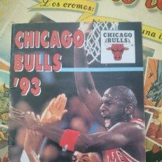 Coleccionismo deportivo: PEQUEÑO CATÁLOGO PLANTILLA DE BALONCESTO NBA CHICAGO BULLS. Lote 128938378