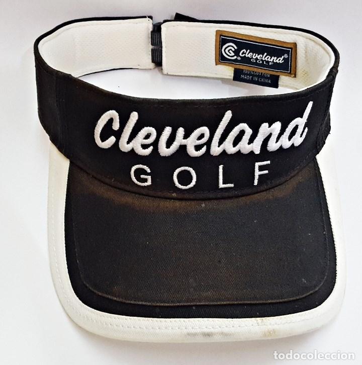 Coleccionismo deportivo: Visera GOLF CLEVELAND. - Foto 2 - 130029939