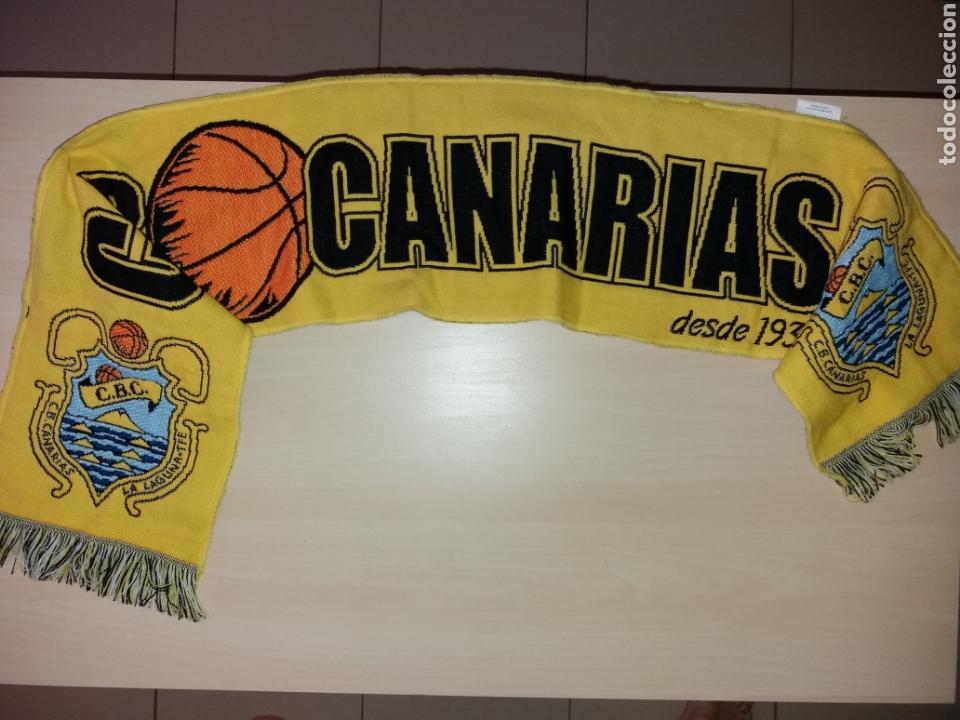 ANTIGUA BUFANDA CB CANARIAS (Coleccionismo Deportivo - Merchandising y Mascotas - Otros deportes)