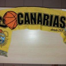 Coleccionismo deportivo: ANTIGUA BUFANDA CB CANARIAS. Lote 131107668