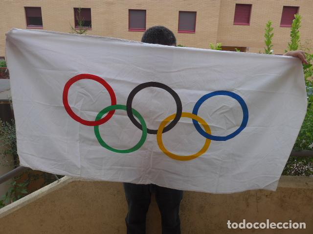 Coleccionismo deportivo: * Gigantesco lote original de las olimpiadas de barcelona 92, chandal, banderas, camisetas... ZX - Foto 22 - 131957078