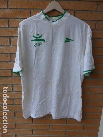 Coleccionismo deportivo: * Gigantesco lote original de las olimpiadas de barcelona 92, chandal, banderas, camisetas... ZX - Foto 28 - 131957078