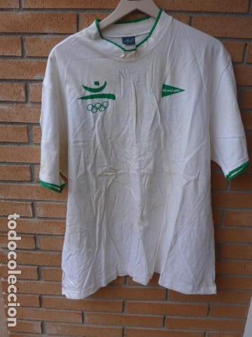Coleccionismo deportivo: * Gigantesco lote original de las olimpiadas de barcelona 92, chandal, banderas, camisetas... ZX - Foto 29 - 131957078