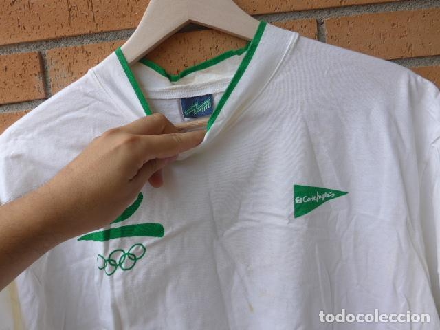 Coleccionismo deportivo: * Gigantesco lote original de las olimpiadas de barcelona 92, chandal, banderas, camisetas... ZX - Foto 30 - 131957078