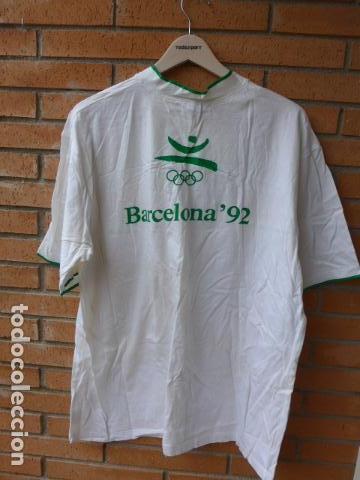 Coleccionismo deportivo: * Gigantesco lote original de las olimpiadas de barcelona 92, chandal, banderas, camisetas... ZX - Foto 31 - 131957078