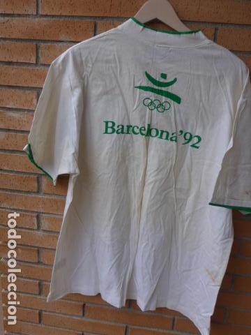 Coleccionismo deportivo: * Gigantesco lote original de las olimpiadas de barcelona 92, chandal, banderas, camisetas... ZX - Foto 32 - 131957078