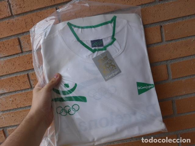 Coleccionismo deportivo: * Gigantesco lote original de las olimpiadas de barcelona 92, chandal, banderas, camisetas... ZX - Foto 33 - 131957078