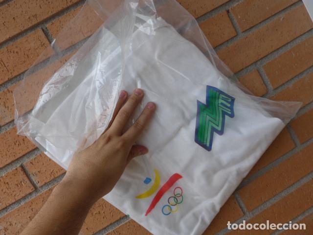 Coleccionismo deportivo: * Gigantesco lote original de las olimpiadas de barcelona 92, chandal, banderas, camisetas... ZX - Foto 34 - 131957078