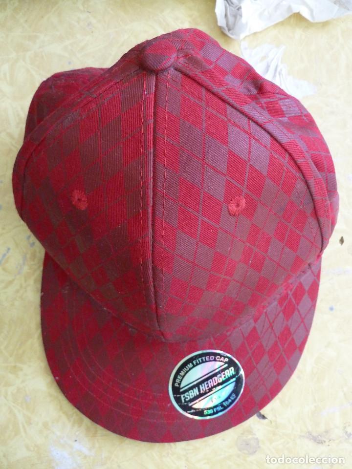GORRA DE COLECCION PREMIUM FITTED CAP FSBN HEADGEAR LIMITED FISHBONE (Coleccionismo Deportivo - Merchandising y Mascotas - Otros deportes)