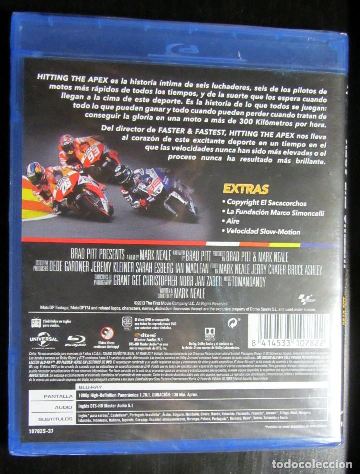 Coleccionismo deportivo: BLU RAY HITTING THE APEX MOTO GP JORGE LORENZO VALENTINO ROSSI MARC MARQUEZ DANI PEDROSA STONER - Foto 2 - 133599650