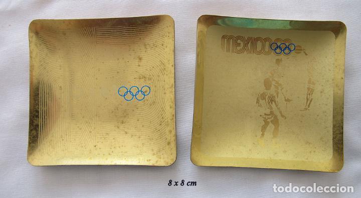 Dos Bandejitas Juegos Olimpicos De Mexico 1968 Comprar