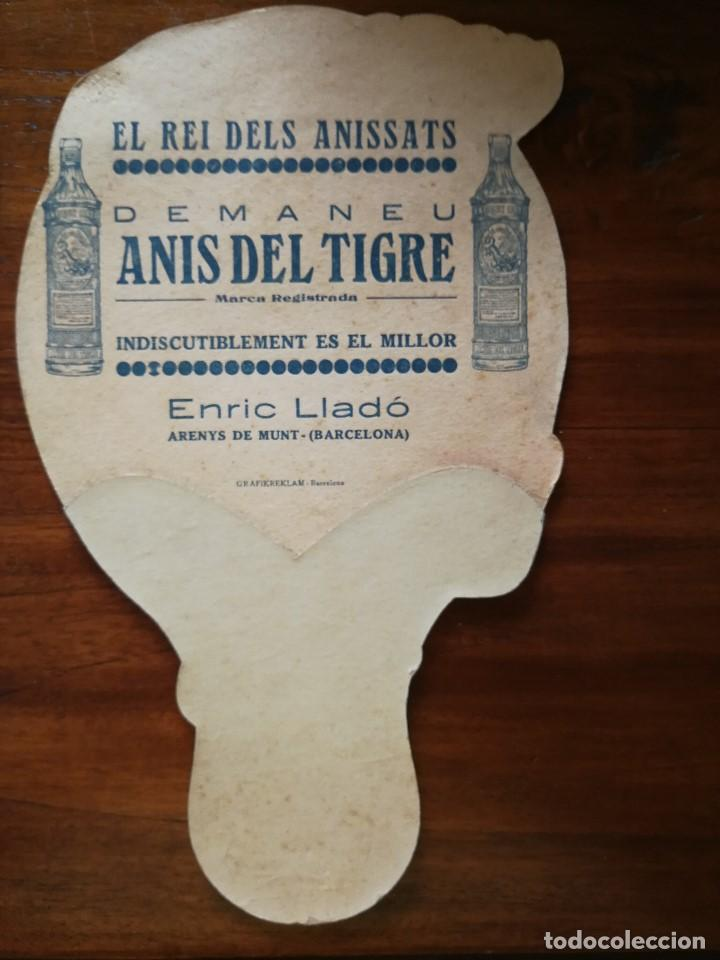Coleccionismo deportivo: GENE TUNNEY - PAI PAI BOXEO ( PAY-PAY / ABANICO ) aprox 1927 TAMAÑO 17 cm x 27,8 cm - ANIS DEL TIGRE - Foto 2 - 135059259