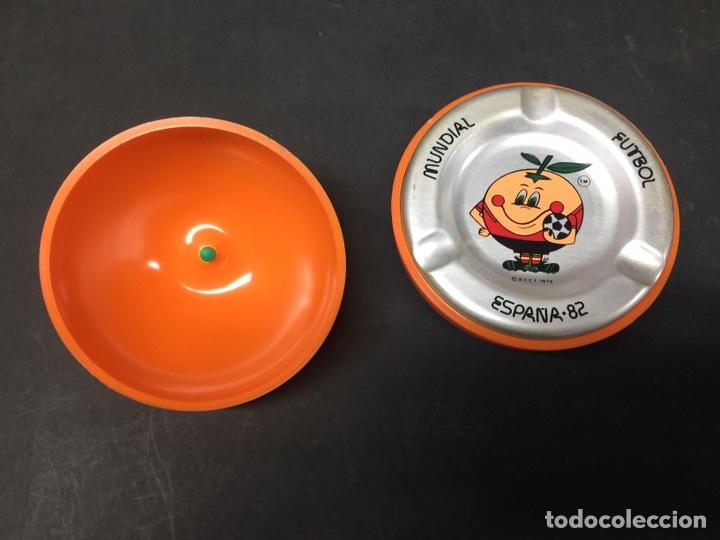 Coleccionismo deportivo: Cenicero naranjito 82 - Foto 2 - 134834243