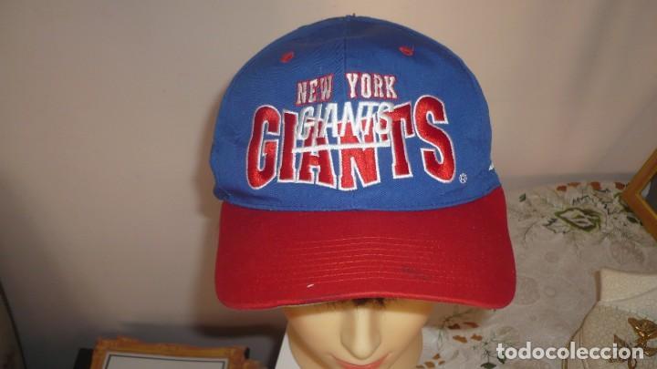 GORRA VISERA GIANTS NEW YORK- CAP OF VISOR GIANTS NEW YORK (Coleccionismo Deportivo - Merchandising y Mascotas - Otros deportes)