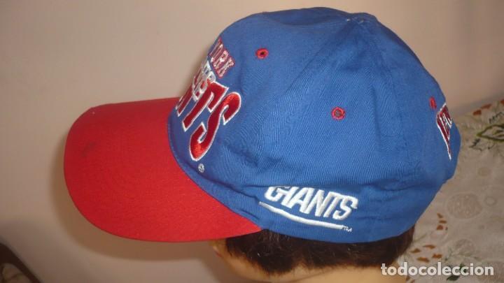 Coleccionismo deportivo: Gorra visera Giants New York- Cap of visor Giants New York - Foto 2 - 134861098