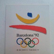 Coleccionismo deportivo: BJS, LOTE DE 48 POSTALES. TODAS. BARCELONA 92. COBI. PETRA... JUEGOS OLIMPICOS. INCREIBLE LOTE. Lote 135343554
