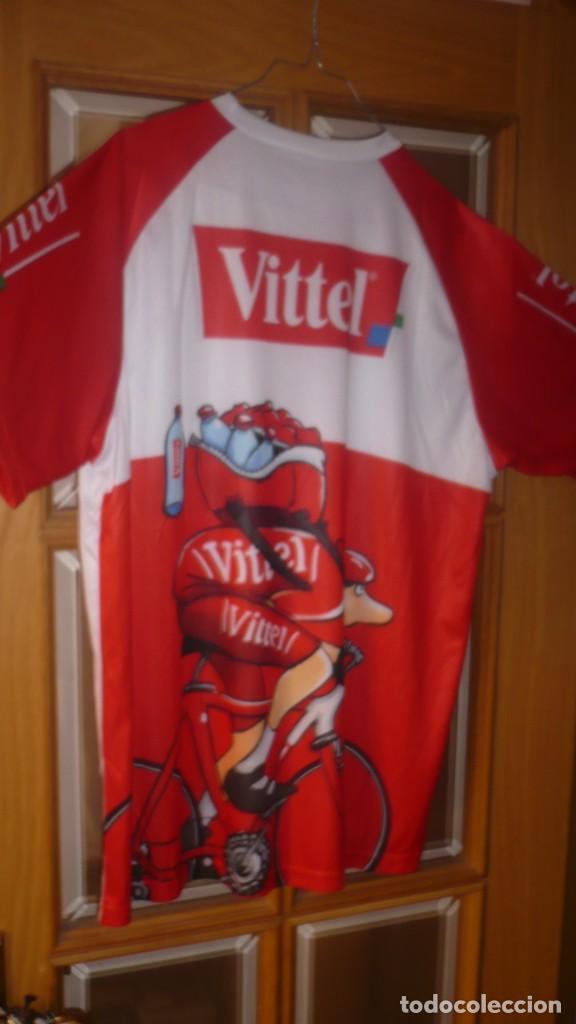 CAMISETA CICLISMO VITTEL TALLA L (Coleccionismo Deportivo - Merchandising y Mascotas - Otros deportes)