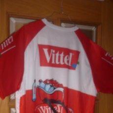 Coleccionismo deportivo: CAMISETA CICLISMO VITTEL TALLA L. Lote 137154658