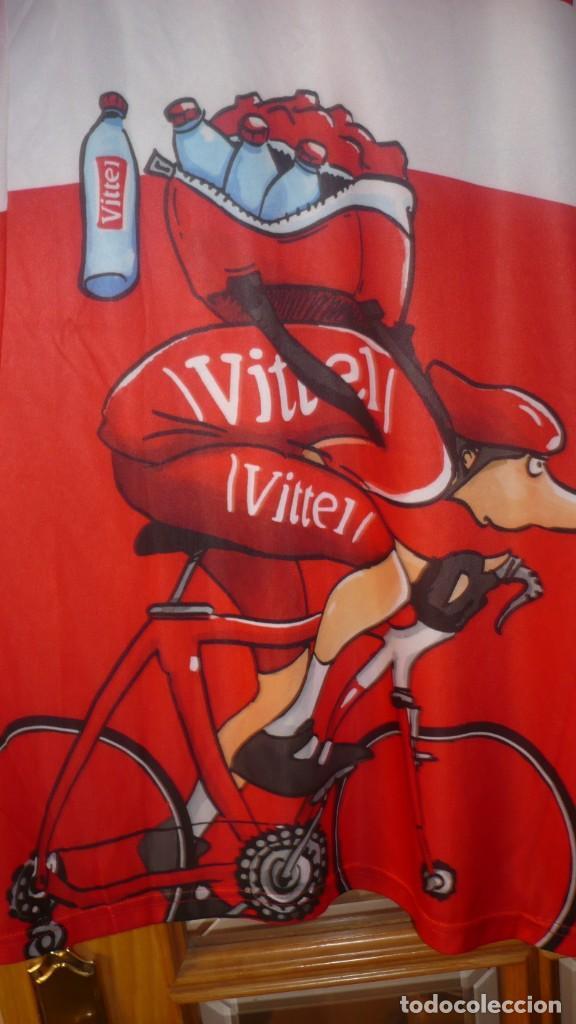 Coleccionismo deportivo: Camiseta ciclismo VITTEL Talla L - Foto 2 - 137154658