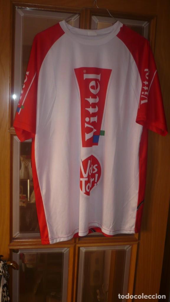 Coleccionismo deportivo: Camiseta ciclismo VITTEL Talla L - Foto 4 - 137154658