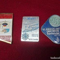 Coleccionismo deportivo: CHAPAS DEPORTE AÑOS 70. Lote 137342366