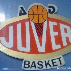 Coleccionismo deportivo: JUVER BALONCESTO A D BASKET PEGATINA ADHESIVO 80´S PROMOCIONAL ZUMOS . Lote 139457490