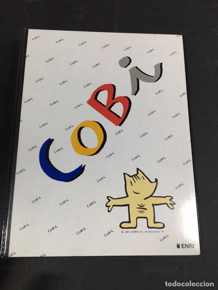 CARPETA DE COBI BARCELONA 92 (Coleccionismo Deportivo - Merchandising y Mascotas - Otros deportes)