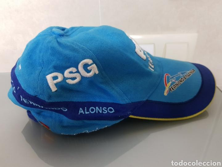 Coleccionismo deportivo: ANTIGUA GORRA FERNANDO ALONSO RENAULT OFICIAL - Foto 2 - 140524997